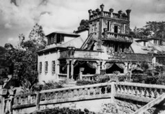 'Paronella Park' castle at Mena Creek, Queensland, 1948 (State Library of Queensland, Australia) Tags: park castles gardens parks queensland statelibraryofqueensland paronellapark slq commons:event=commonground2009