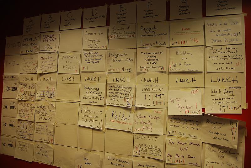 The Grid at BarcampRDU