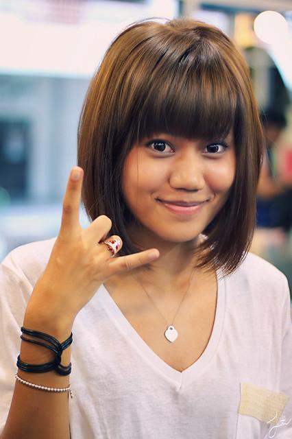 Wanita Gaya Untuk Patong Rambut Pendek Epsosde - Gaya rambut pendek yg elegan