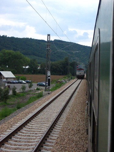 Train Ride to Plzeň
