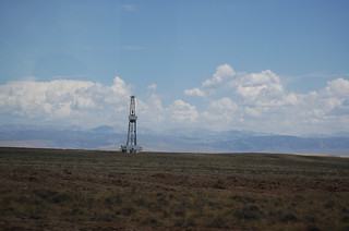 Natural Gas Rig, Pinedale Anticline