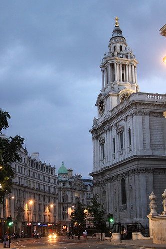 Night at St Pauls Cathedral