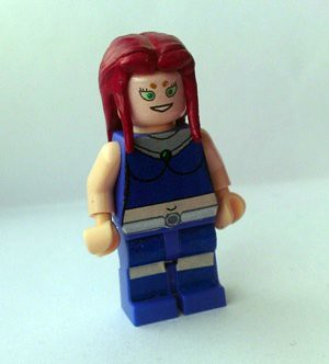 Starfire (from Teen Titans animated cartoon) | Custom LEGO ...