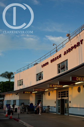 Long Beach Airport in the Morning