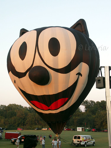 Plano Balloon Festival - Felix the Cat