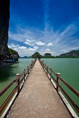 The Long Road........ (jeffiebrown) Tags: thailand island jamesbondisland phangnga kohtapu jeffiebrown