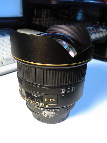 Ai AF Nikkor ED 14mm F2.8D with prong