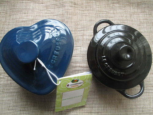 My own Le Creuset set