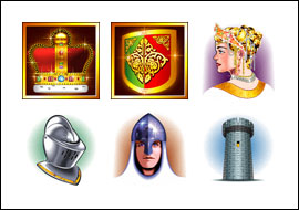 free Realm of Riches slot game symbols