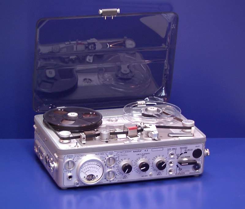 Nagra 4.2 monural recorder, 1970
