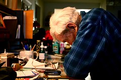 So much left to do... i'll leave it up to you. (tomhinueber) Tags: life old canon desk thomas grandpa age unfinished سكس 40d hinueber