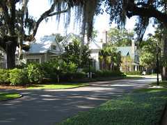 Street View Wilson Village at Palmetto Bluff SC (babyfella2007) Tags: life street new old trees houses house jason fern building tree brick classic home architecture rural fence allison landscape design living store moss oak live board traditional low country cottage victorian palm neighborhood southern spanish coastal porch taylor neo bluff palmetto picket ramsey revival lowcountry resurection neotraditional batten ressurection landscapping