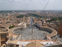 View over St Peter's Square, Rome (Charlie Phillips) Tags: italy vatican rome history ancient romans