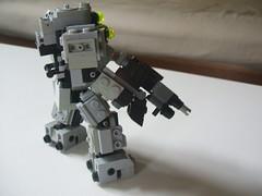 DSCF8867 (+DemonHunter+) Tags: robot gun lego machine walker weapon vehicle futuristic mech hardsuit