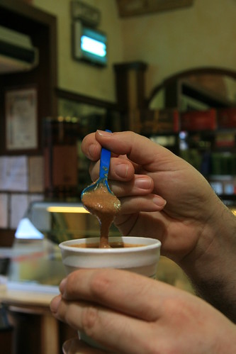 Granita siciliana (al cafe')