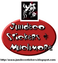 Jundeco Stickers & Muchmore logo
