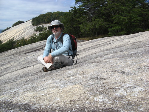 Self-portrait at Stone Mountain