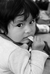Wooden Spoon (Petarine) Tags: bw latinamerica southamerica toddler child bolivia cochabamba bolivianchild indigenouschild boliviantoddler indigenoustoddler