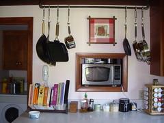 Melissa's pot rack