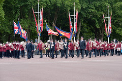 ISB120 2011 024 (Howard.) Tags: london musicians band flags parade musical uniforms instruments 2011 staffband isb120