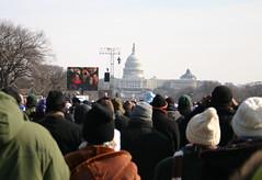 Obama Inauguration from National Mall (rikomatic) Tags: nationalmall inauguration natio barackobama inaug09