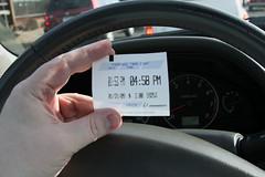 parking ticket (jchurch) Tags: parking ticket