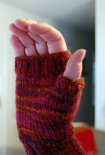Handspunnish Mitts