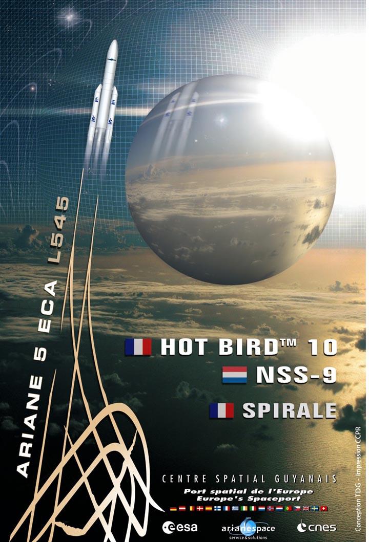 Ariane 5 ECA V187 (HotBird-10 + NSS-9) - 12.2.2009 3234609320_2bfd449760_o