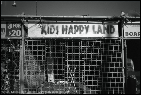 Kid's Happy Land, Venice Beach 2009