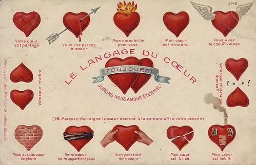 le language du coeur