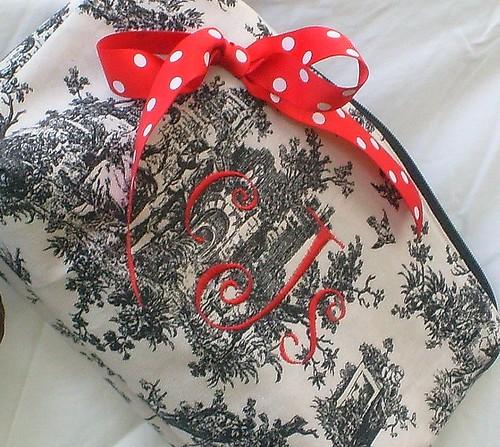 monogram make up bags