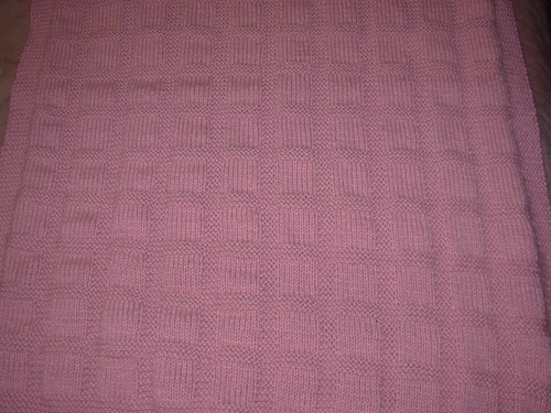 Sunny Baby Blanket Knitting Pattern : FO: Sunny Baby Blanket - Whatcha Knittin? - KnittingHelp Forum Comm...