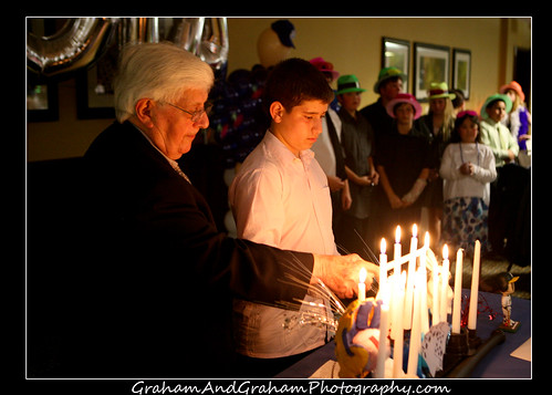 Bar Mitzvah Candle Lighting by Graham & Graham