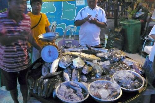 fresh fish bbq