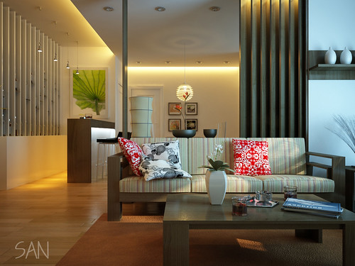 Modern Living Room Interior Design Idea Minimalist Style