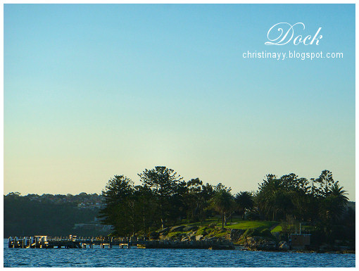 Sydney Harbour: Dock