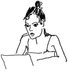 domingo* (curvasdotempo) Tags: preta caneta