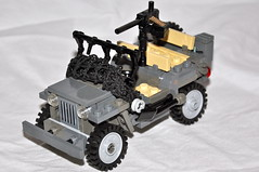 """Rosie"" V3 (The Ranger of Awesomeness) Tags: us ally lego jeep jeeps awesome wwii ambulance american v3 mb allies awesomeness ftw willysjeep willysmb willysmbjeep sheerawesomeness"