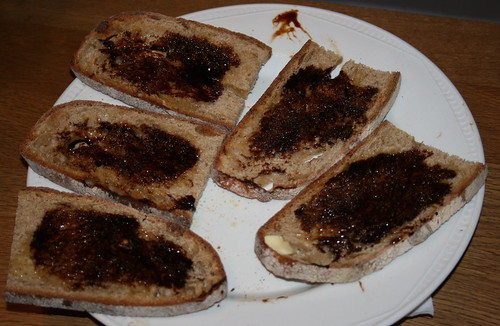 bovril on toast