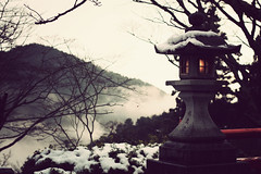 Where Time Stands Still (Jason_Combs) Tags: winter japan temple 50mm kyoto  nippon lantern kurama  kyotoprefecture explored kuramatemple mountkurama
