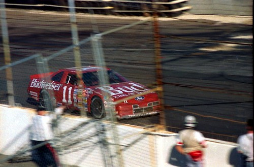 Geoff Bodine exiting turn 4