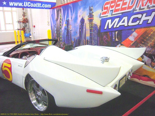 Speed Racer car  1730 2009 World of Wheels Auto Show