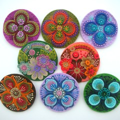 DSCN0864 (APPLIQUE-designedbyjane) Tags: order brooch felt custom wholesale freeformembroidery
