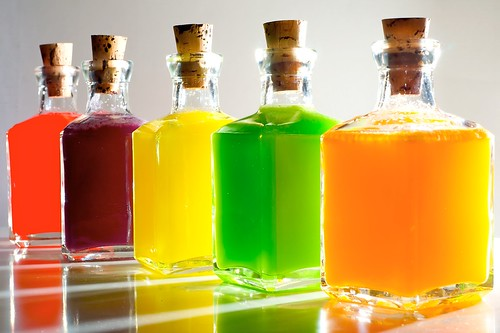 Skittles Vodka (with instructions on Flickr)