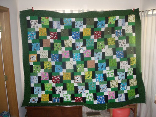 A&B's Quilt Finished