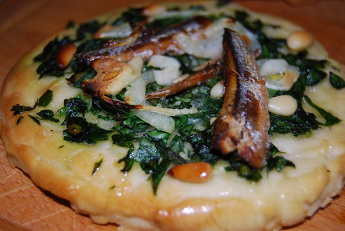 coca d'espinacs, kleine spinaziepizza's