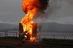 (Zak355) Tags: fire firebrigade rothesay isleofbute