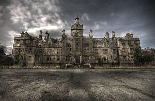 Denbigh abandoned asylum