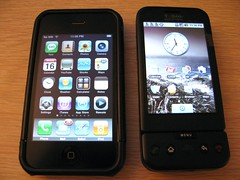 iPhone 3G vs. Android G1