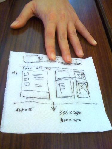 餐巾紙上搞企劃